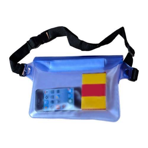 fe7386dc9e15 Спортивная водонепроницаемая сумка на пояс для гаджетов, денег - фото 1