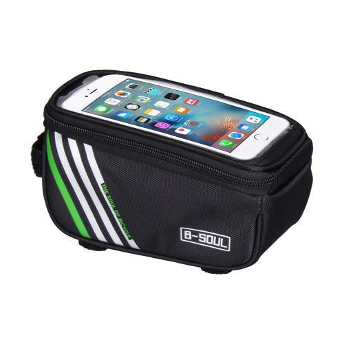b4cac50209fa Велосипедная сумка на раму с чехлом для телефонов на 5.5 дюймов - фото 1